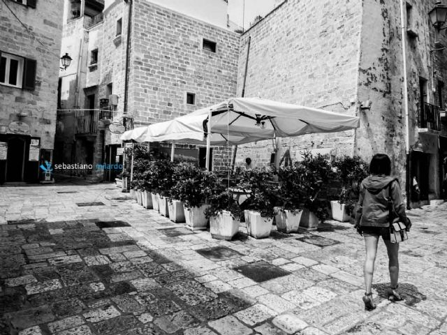WOMAN IN THE OLD CITY...